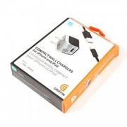 Сетевое зарядное устройство GRIFFIN для Apple iPhone 5, 5S, iPod, iPad mini. Кубик + кабель. фото