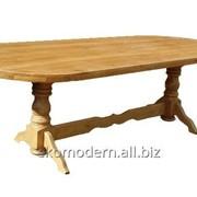 Стол ЦЕЗАРЬ деревянный фото