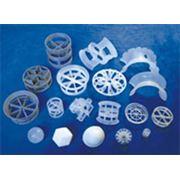 Кольца Рашига керамика пластик Пластиковые кольца насадки фото