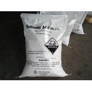 Сульфаминовая кислота Амидосульфоновая Sulfamic acid фото