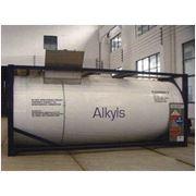Танк-контейнер для транспортировки и хранения алкилов аллюминия