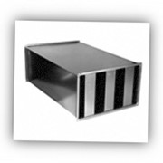 Глушитель шума пластинчатый ГП 6-3 фото