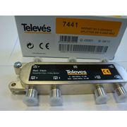 Делитель ТВ сигнала на 6 выходов (5-2400 МГц) Испания фото