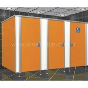 Туалетные кабинки из компакт ламината фото