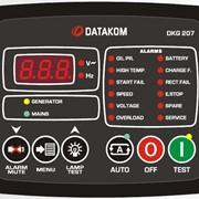 DATAKOM DKG-207 Контроллер автоматического управления генератором и ввода резерва фото