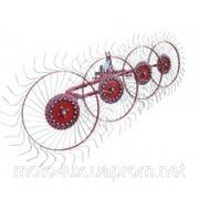 Bomet грабли ворошилки навесные 4-х колесные (сонечко) фото