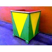 Контейнер для мусора V=640 дм3 фото