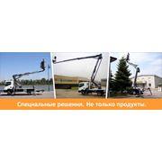 АрендаВоздушные платформы в Молдове ICS Industrial AccessSRL фото