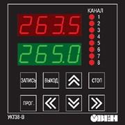 УКТ38-В измеритель температуры 8-канальный фото