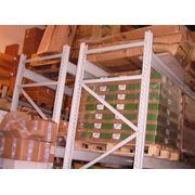 Стеллажи для европоддонов (грузовые паллетные) фото