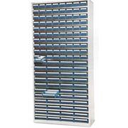 Стеллаж шкаф с выдвижными лотками фото