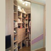 Шкафы-купе гардеробные на заказ фото
