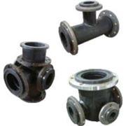 Фасонные изделия трубопроводов для водоснабжения и канализации из пнд полиэтилена фото