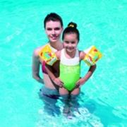 Нарукавники детские плавательные фото