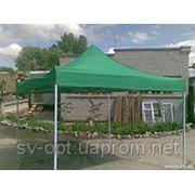 Шатёр торговый 3х4 производство Украина вес 55кг Очень прочный верх прорезиненный фото