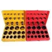 Резиновые уплотнительные кольца в наборах метрический и дюймовый стандарт. фото