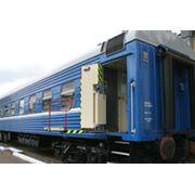 Пассажирский купейный вагон модель 61-537М фото