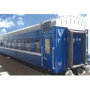 Пассажирский плацкартный вагон модель 61-537 фото