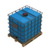 Еврокуб в обрешотке, кубовая емкость для транспортировке 1000 литров фото