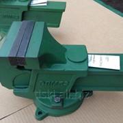 Тиски слесарные 160 мм с поворотной плитой ГОСТ 4045-75 фото