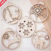 Деревянные игрушки новогодние под заказ фото