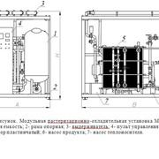 Модульная пастеризационно- охладительная установка МПОУ-5 фото