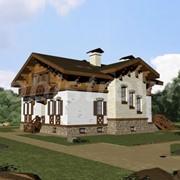 Проект дома ВЕ-033- 1 фото