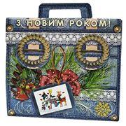Новогодняя упаковка Портфель Киев фото