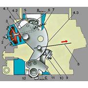Механическая воздушная заслонка фото