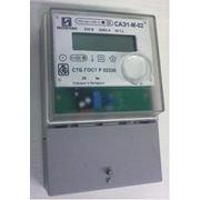 Счетчик активной энергии переменного тока электронный непосредственного подключения САЭ1-М-02 фото