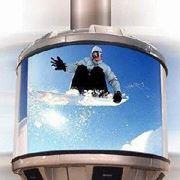 Монитор для рекламы фото