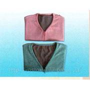 Турмалиновая кофточка-жилетка с лечебным эффектом фото