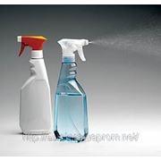 Флакон под жидкость для мойки стекол. Бутылка 0,5 литра для куркового распылителя (триггера). фото