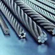 Канат стальной двойной свивки типа ЛК- О ГОСТ 3066, DIN 3055 (SE), DIN EN 12385-4, ISO-2408 фото