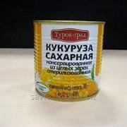 Кукуруза сахарная консервированная первого сорта в ж/б 400 г фото