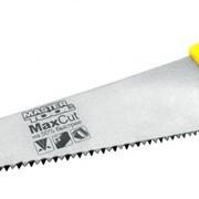 Ножовка столярная 500 мм, 4TPI MAX CUT, каленый зуб, 2-D заточка, полированная Mastertool 14-2650 фото