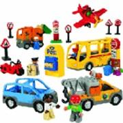 LEGO Общественный и муниципальный транспорт. DUPLO арт. RN9576 фото