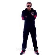 Мужская одежда Мужской спортивный костюм Огненный гонщик (112/БИ) / темно-синий фото