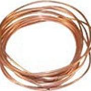 Трубка медная капиллярная 1,87 х 0,600 х 15 м в бухтах (0,670 мм - внутрен. диам.) фото