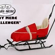 Санки Baby Merc Challenger на амортизаторах + конверт фото