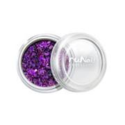 RuNail, дизайн для ногтей: конфетти (сиреневый) фото
