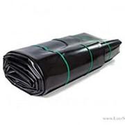 Пленка п/э для водоемов , 500мкм, 8х12,5м, Чёрная, в пачках (сварная) фото