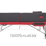 Двухсекционный алюминиевый массажный стол AL-2-13 фото