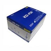 Катетер в/в G24 (0,7х19мм) KD-fix с доп. портом и крыльями, жёлтый, КДМ (упак.50 шт) фото