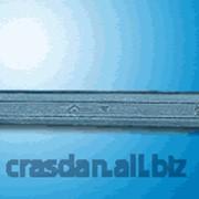 Ключ гаечный с открытыми зевами двусторонний фото