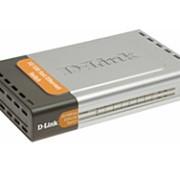 Коммутатор с 7 портами 10/100Base-TX + 1 оптическим портом 100Base-FX фото