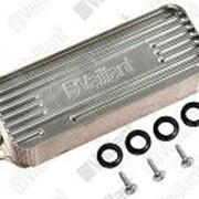 Теплообменник вторичный ГВС 19 пластин 0020038572 для газового котла 20-32 кВт. Vaillant фото