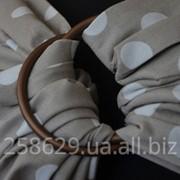 Слинг с кольцами для новорожденных тм Наш слинг Солнечные зайчики фото