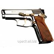Пистолет стартовый Ekol ARAS Compact (15 патронов +1) хром/позолота фото