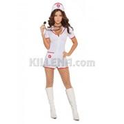 Костюм сексуальной медсестры E-9971 фото